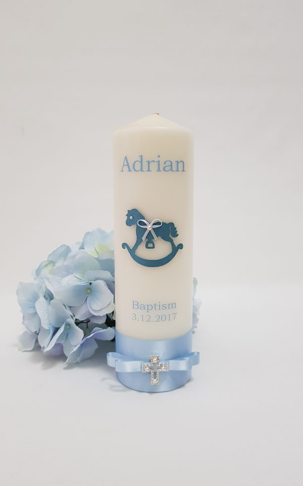 christening-baptism-personalised-candle-pink-N9F6