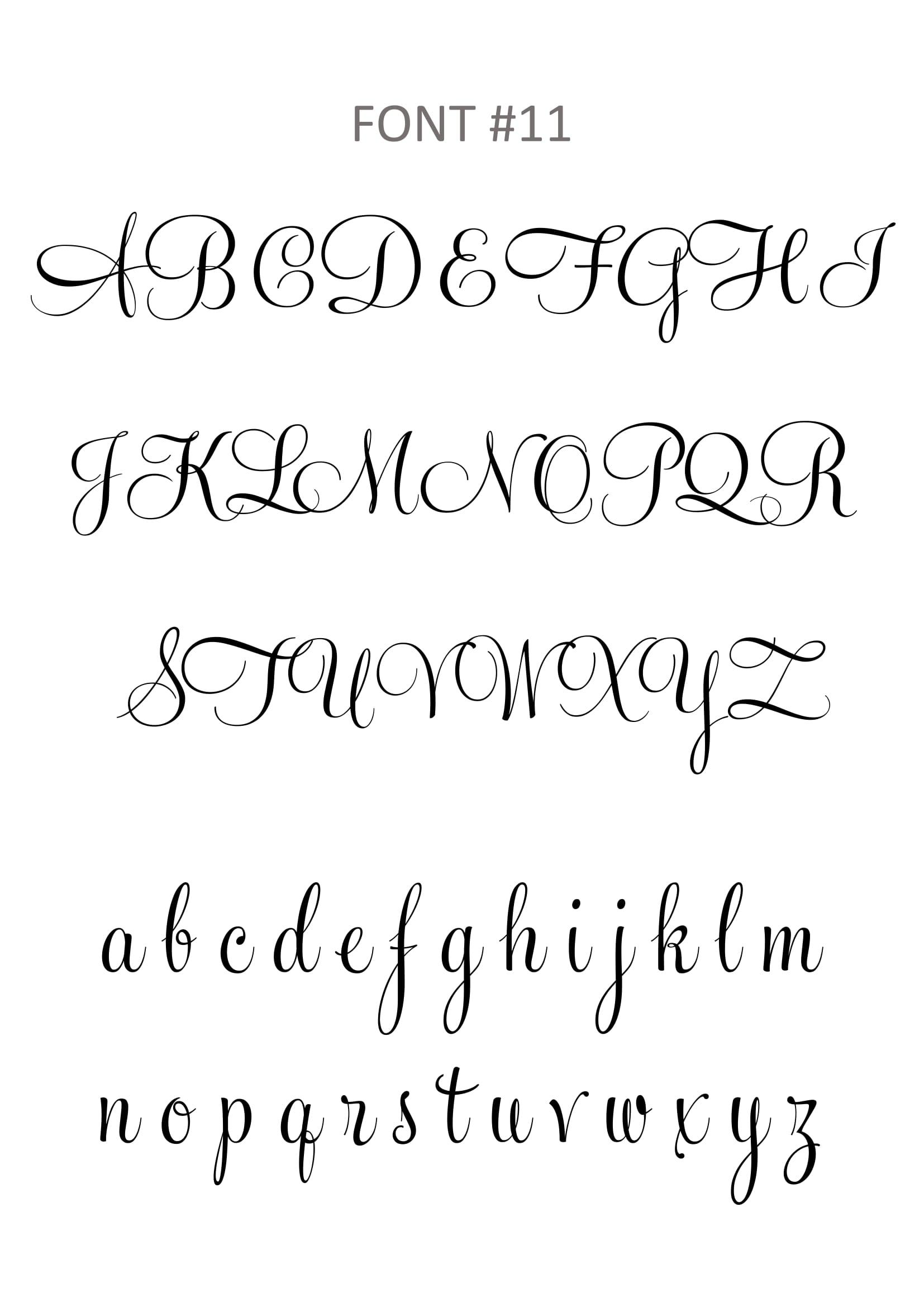feel script font